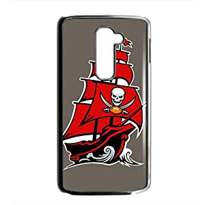 Personal Customization tampa bay buccaneers logo Hot sale Phone Case for LG G2 Black