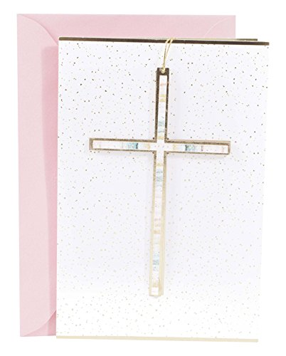 (Hallmark Signature Religious Easter Greeting Card (Hangable Painted Cross))