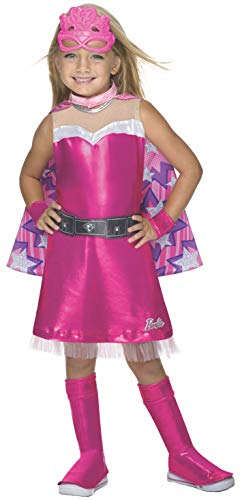 Rubie's Barbie Princess Power Super Sparkle Deluxe Costume, Child's Medium -