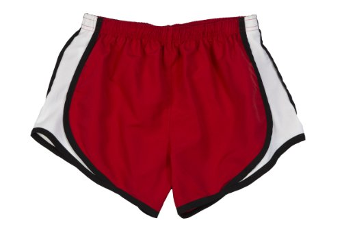Price comparison product image HTC BUNDLE: Athletic Shorts, Dri Fit Gym or Play Shorts & Garment Guide, Red-L