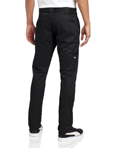 Knee Skinny Work Double Nero Fit black Pantaloni Uomo Dickies q4zUtBwxq