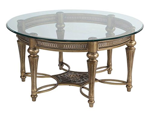 Magnussen Round Cocktail Table - Galloway