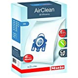 Miele HyClean GN Replacement Dustbags 4 AirClean FilterBags, 1 motor protection filter, 1 AirClean Filter