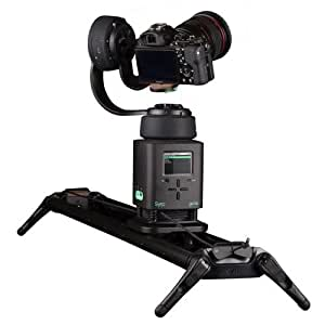 "Syrp Genie 3-Axis Kit with 1x Genie and 2x Genie Mini Motion Control Systems, Includes 1S Link Cables, Sync Cable, Pan Tilt Bracket, 2.6"" Magic Carpet Short Track with Carriage and End Caps"
