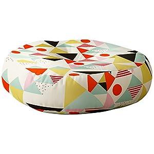 Deny Designs Hello Twiggs Modern Art Pillow, Floor