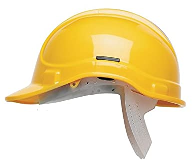 Scott Safety HC300/Y/NSB - Casco de seguridad sin ventilación, color amarillo