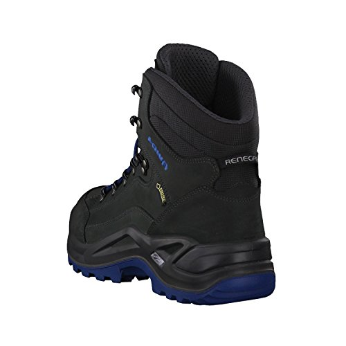Lowa Renegade GTX Mid (310945-4285) - Scarponcini da trekking, grigio (anthrazit/jeans), FR:42