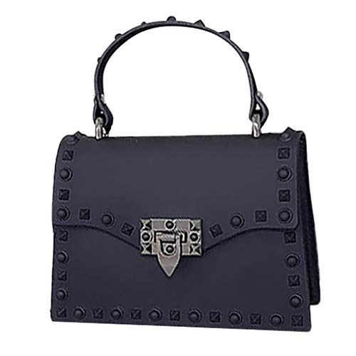 - AopnHQ Cross Body Fashion Rivet Chain Bag,Single Shoulder Leather Purse Messenger Hand bag,Women Bag Clutch Purses