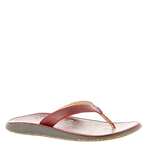 Women's Sandals Olukai Ohia Red Paniolo XPBBFwxqd