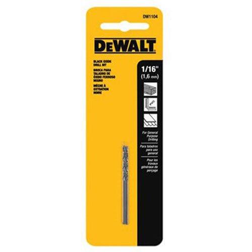 "DEWALT ACCESSORIES DW1104 1/16"" Black Oxide Bit"