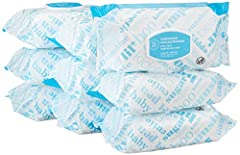 Amazon Elements Unscented wipes are made with pharmaceutical-grade purified water, aloe and vitamin E for clean and gentle wipes. Each one is strong, soft, large, and textured for cleaning hands, face, and diaper area. Your order includes six...