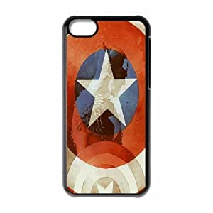 Custom High Quality WUCHAOGUI Phone case Caption American Pattern Protective Case For iphone 5c iphone 5c - Case-2