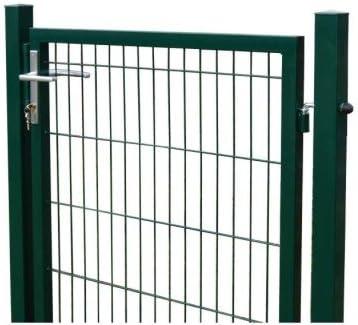 Puerta para jardín, valla, camas, 1230 x 1000 mm Incluye postes RAL 6005/verde: Amazon.es: Jardín