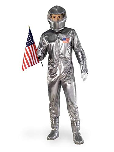 Silver Astronaut Adult Costume