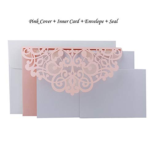 1pcs Blue White Elegant Laser Cut Wedding Invitation Cards Greeting Card Business With RSVP Cards Decor Party Supplies,Plum