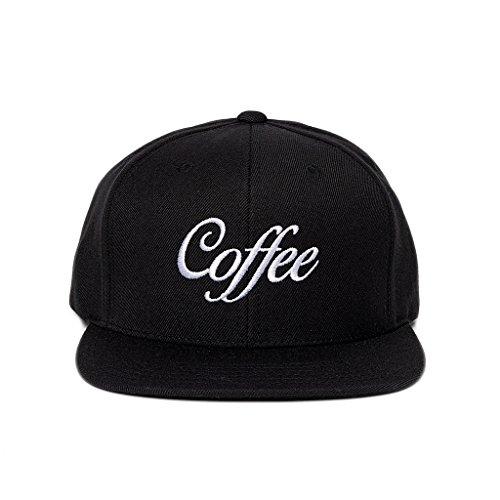 Snapback Gorra Negro Coffee de Dritan Béisbol Alsela Cap RnwBfqYTx
