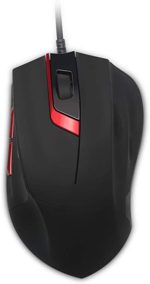 Gaming Mouse 8-Button Ergonomic Design Wired Mouse USB Gaming Mouse 4000 DPI Programmable Mouse Fast Scrolling