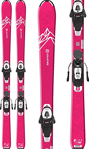 Salomon QST Lux Jr Medium Skis w/L6 GW Bindings Girl's