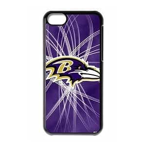 Alison Marvin Feil's Shop NFL Baltimore Ravens iPhone 5c Plastic Hard Protective Case 8016749M29045631