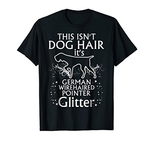 German Wirehaired Pointer Tee Shirt Glitter Fun Apparel Gift