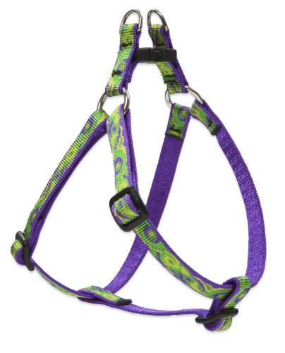 """LupinePet Originals 1/2"""" Big Easy 12-18"""" Step In Harness for Small Dogs"""