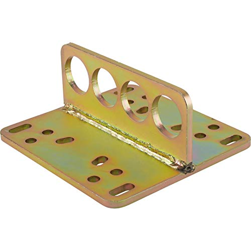 Standard Engine Lift Plate Fits Holley 2bbl & 4 bbl/Rochester Intake Manifolds (Flat Engine Mounting Plate)