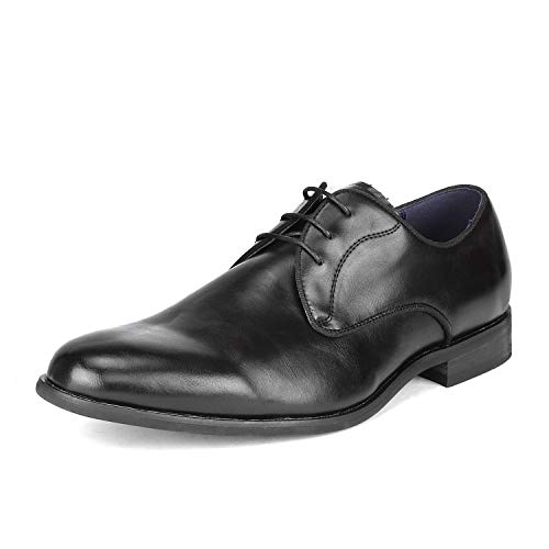 Bruno Marc Men's Dress Shoes Formal Oxfords Florence_5 Black Size 10.5 M US ()