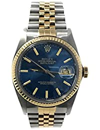 Datejust swiss-automatic mens Watch 16013 (Certified Pre-owned)