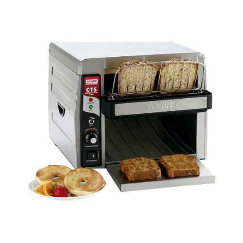 Waring  (CTS1000) 450 Slices/Hr Commercial Conveyor Toaster by Waring