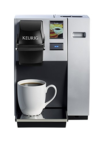Keurig K150 Single Cup Commercial K-Cup Pod Coffee Maker, Silver(Direct plumb kit not included) (Renewed)