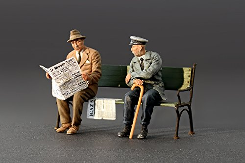 MiniArt 38006 1918 bis 1945 2.Weltkrieg German Sitting Civilians/'30s-/'40s
