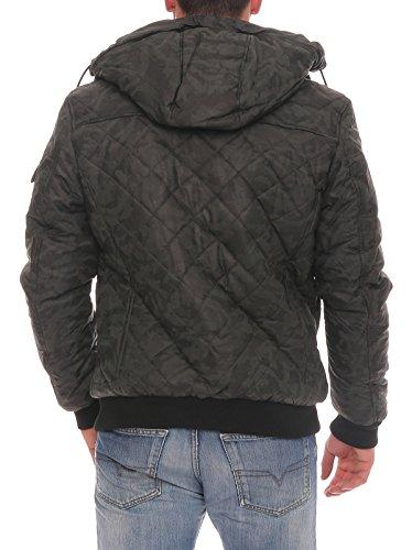 Alimentato Uomini Di Pilota Aoriwei L'inverno Giacca Protettivo Finta Involucro Nero Camouflage Pelle Con Bomber Il Riveste La rzzEwq6x