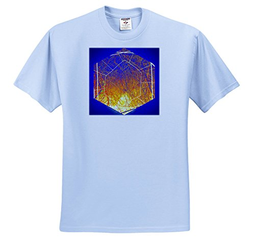 Crux Tee - Dylan SEIBOLD - Photo Abstraction - Million Sun cruxes - T-Shirts - Light Blue Infant Lap-Shoulder Tee (18M) (TS_262722_75)
