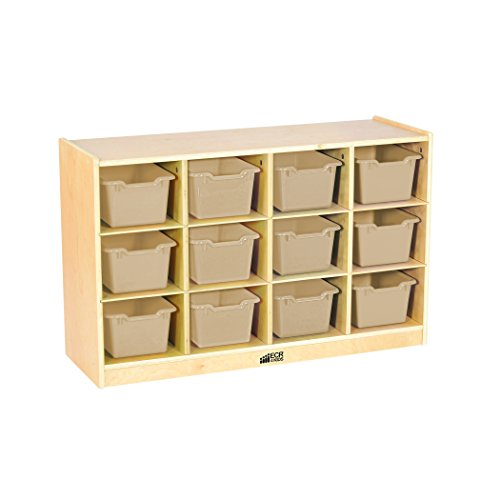 9 cubby storage unit white - 3