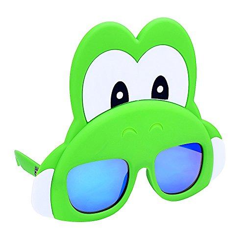 Sunstaches Yoshi Instant Costume Licensed - Yoshi Sunglasses