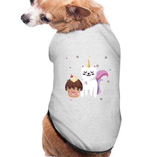 KuLuKo Pet Shirt, Dog Cat Clothes Puppy Classic Vest Sweet Cat Cupcake T-Shirt Pet