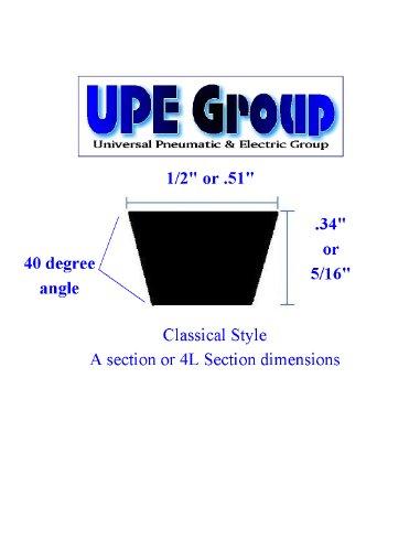 (New Classical Style V Belt A81 A-81 4L830 1/2