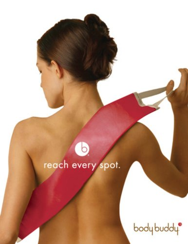 Body Buddy Lotion Applicator - Dark Red - Non-Absorbent Fabric