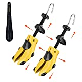 Eachway Pair of Professional 2-Way Premium Shoe Stretcher Tough Plastic Shoe Trees,Adjustable Length