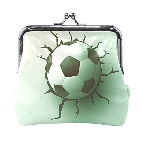 Price comparison product image Blue Viper Soccer Ball In The Wall Leather Coin Purse Mini Pouch Change Wallet Clutch Handbag