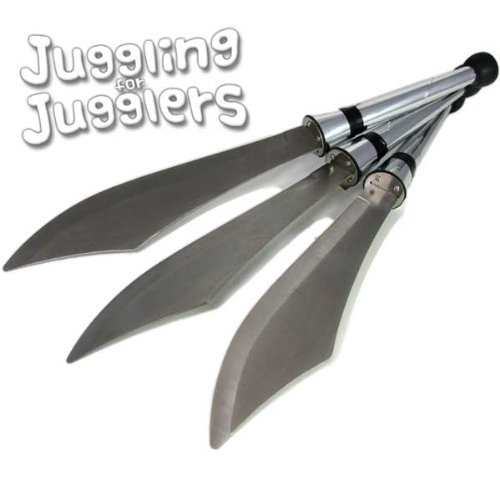 3 x Juggle Dream juggling sabres by Juggle Dream