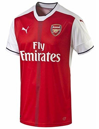 Puma Mens Arsenal T-Shirt Red Size (Cropped T-shirt Jersey)