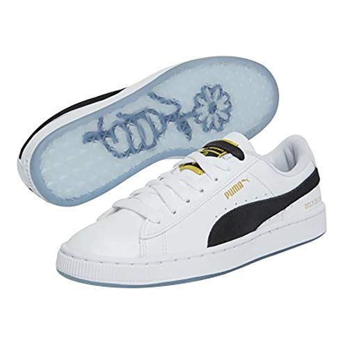 PUMA X BTS Basket Patent Shoes Bangtanboys Collaboration 36827801 White  from Puma - Favorite Sportswear
