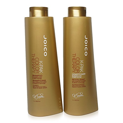 Joico K-Pak Color Therapy Shampoo & Conditioner Liter Duo