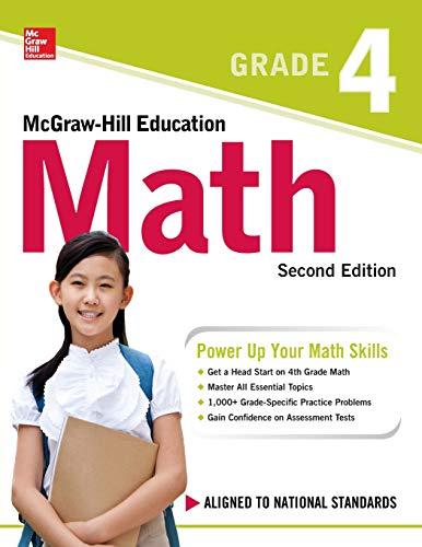 McGraw-Hill Education Math Grade 4, Second Edition from McGraw-Hill Education