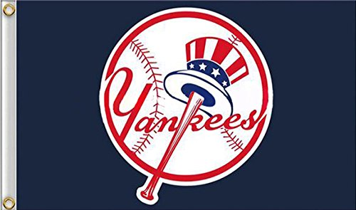 Five Star Flags New York Yankees Flag, Yankees Flag, Flag for Indoor or Outdoor Use, 100% Polyester, 3 x 5 Feet.]()
