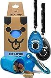 TreatPod and Training Clickers (Blue/Black)