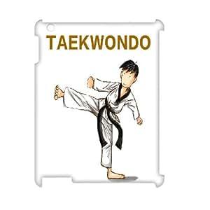 LSQDIY(R) Taekwondo iPad2,3,4 Hard Back 3D Case, Personalized iPad2,3,4 3D Case Taekwondo