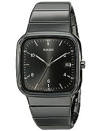 Rado Men's R28887162 R5.5 Analog Display Swiss Quartz Black Watch