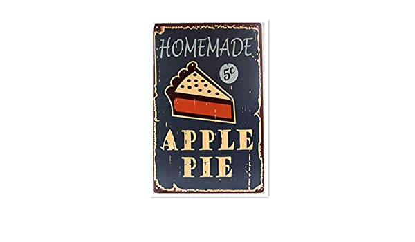 Homemade Apple Pie Póster De Pared Metal Retro Placa Cartel ...